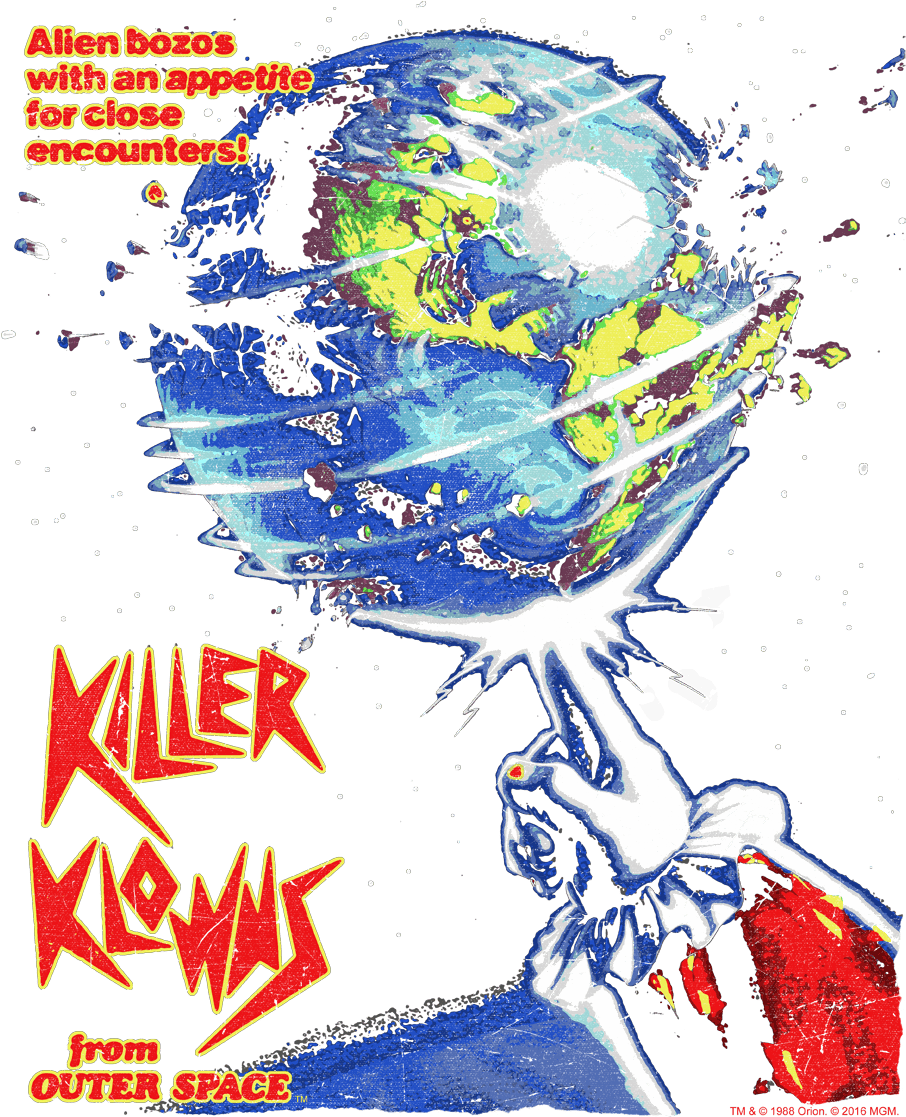 Transparent space invaders clip art - Killer Klowns From Outer Space Png