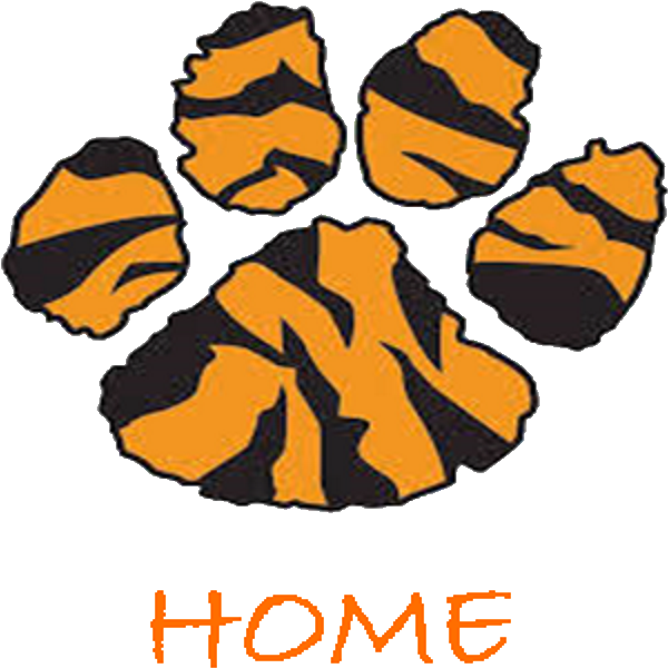 Transparent free tiger paw clip art - Tiger Paws Clipart , Png Download - Cartoon Tiger Paw Print