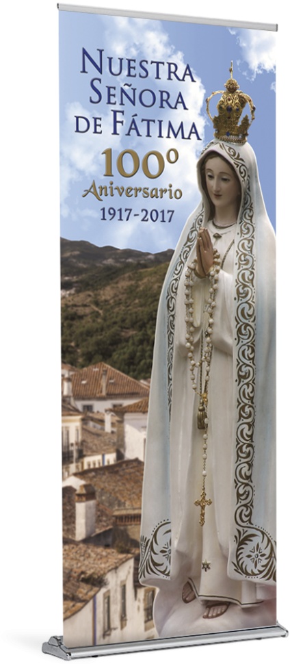 Transparent our lady of fatima clipart - Olof 100 D Spn - Our Lady Of Fatima
