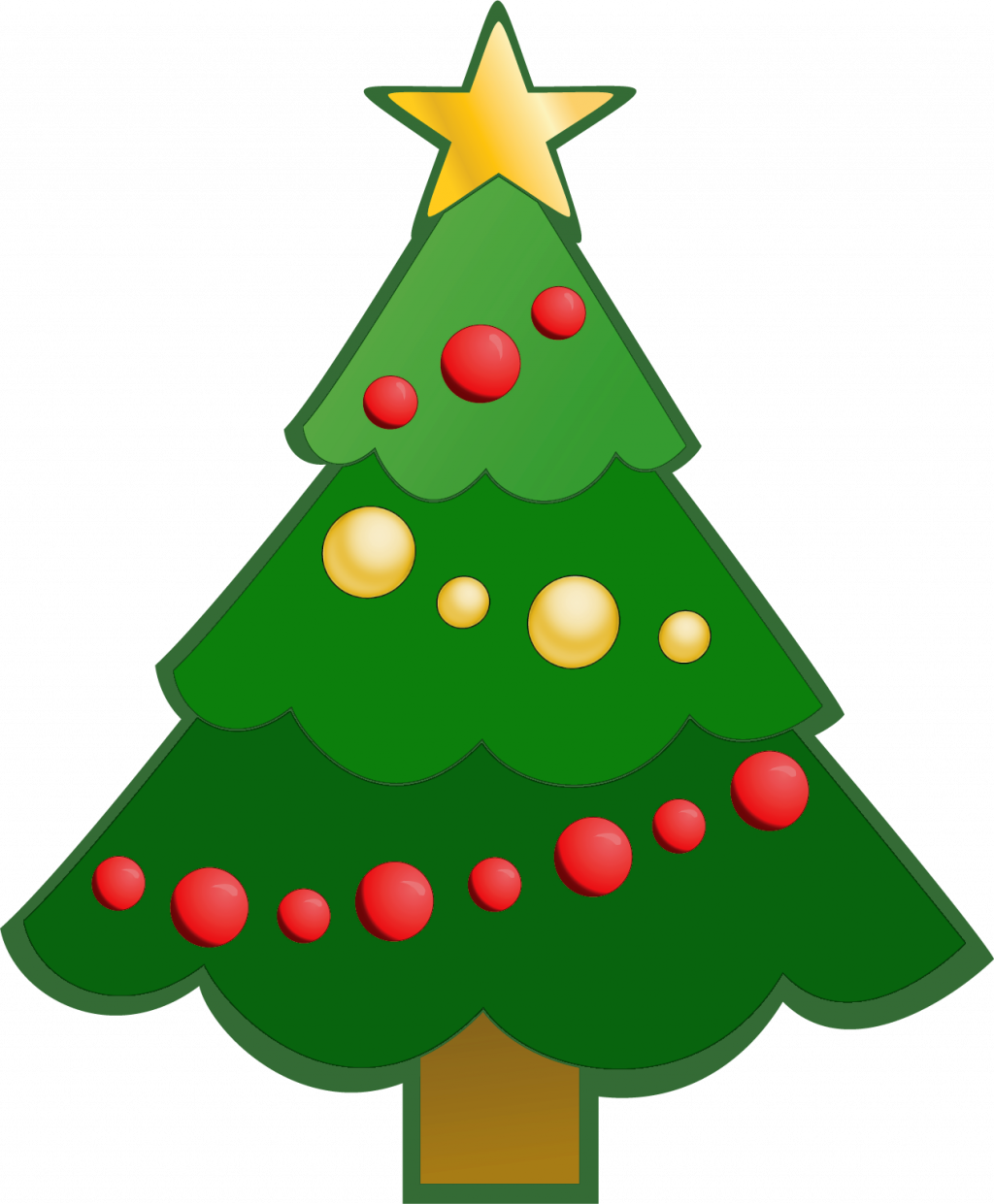 Transparent free clipart for christmas - Christmas ~ Christmas Clip Art Phenomenal Tree Clipart - Clipart Simple Christmas Tree
