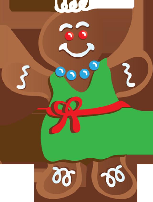 Transparent gingerbread girl clipart - Gingerbread Clipart Gingerbread Outline - Gingerbread Man Clip Art