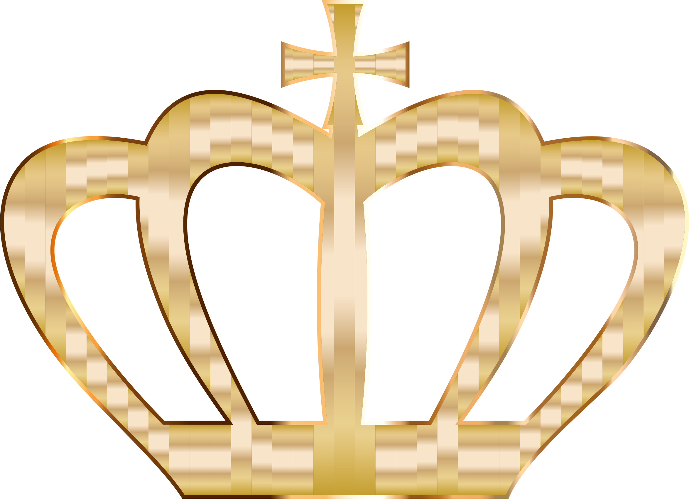 Transparent gold glitter crown clipart - Clip Arts Related To - Gold Heart With Crown
