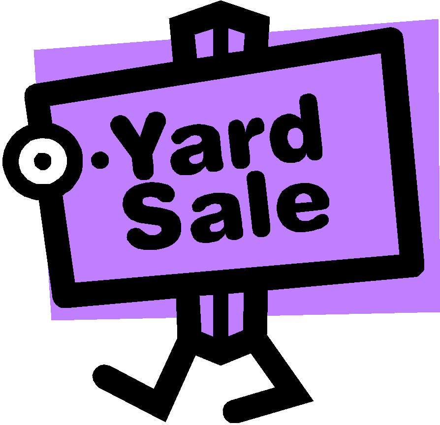 picture about Printable Yard Sale Signs named Garage Sale Symptoms Clipart - Red Garden Sale Symptoms