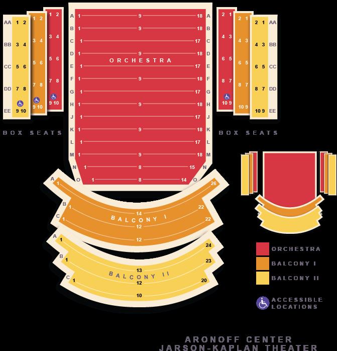 Music Man Loge Aronoff Seating Chart