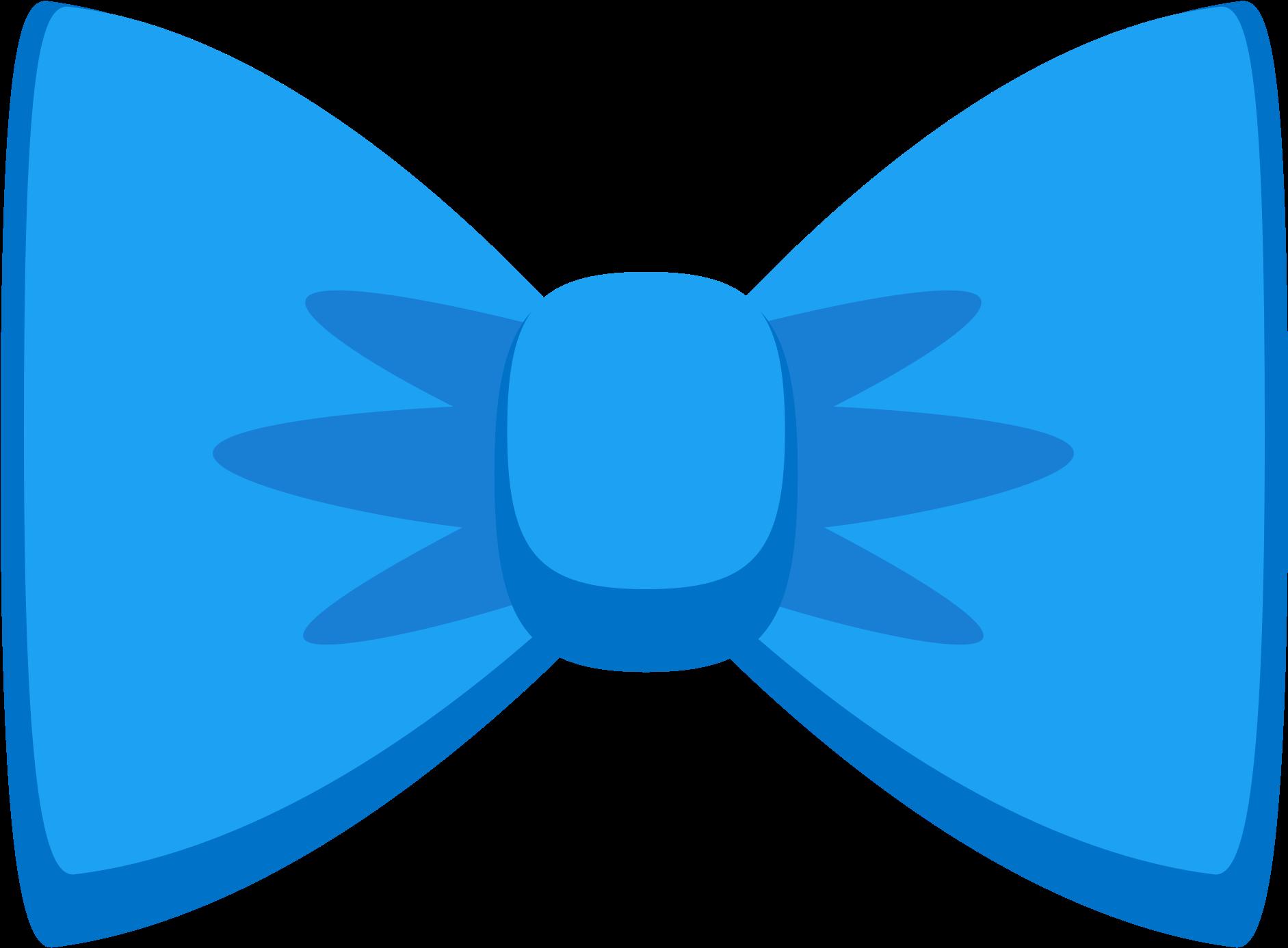 Bowtie - Blue Bow Tie Stickers , Transparent Cartoon - Jing.fm