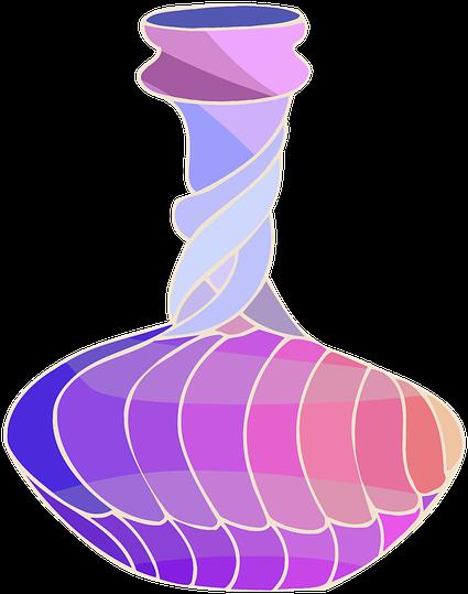 Container Jar Jug Pot Pottery Vase Vessel Sketch Flower Pot Design Drawing With Colour Transparent Cartoon Jing Fm