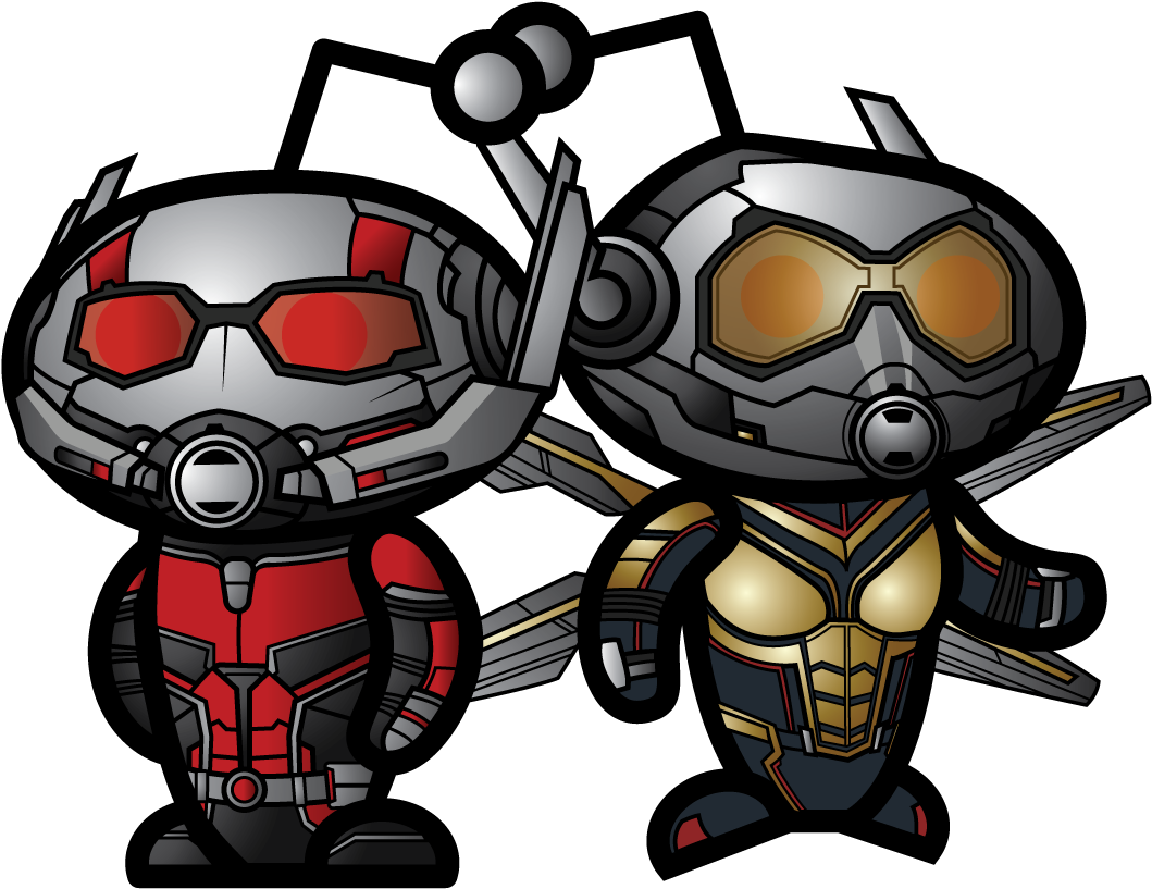 Transparent ant man and the wasp clipart - Cartoon