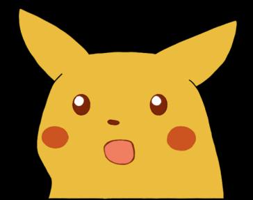 Surprised Pikachu Cut Out , Transparent Cartoon - Jing.fm