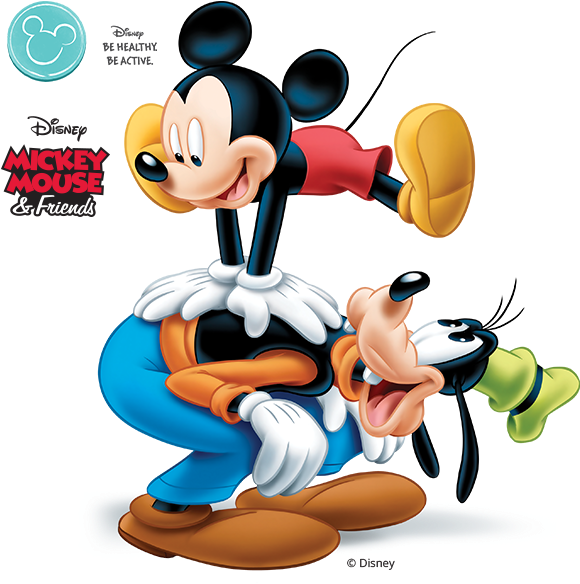 Transparent kids taking turns clipart - Vitality Kids - Mickey Mouse