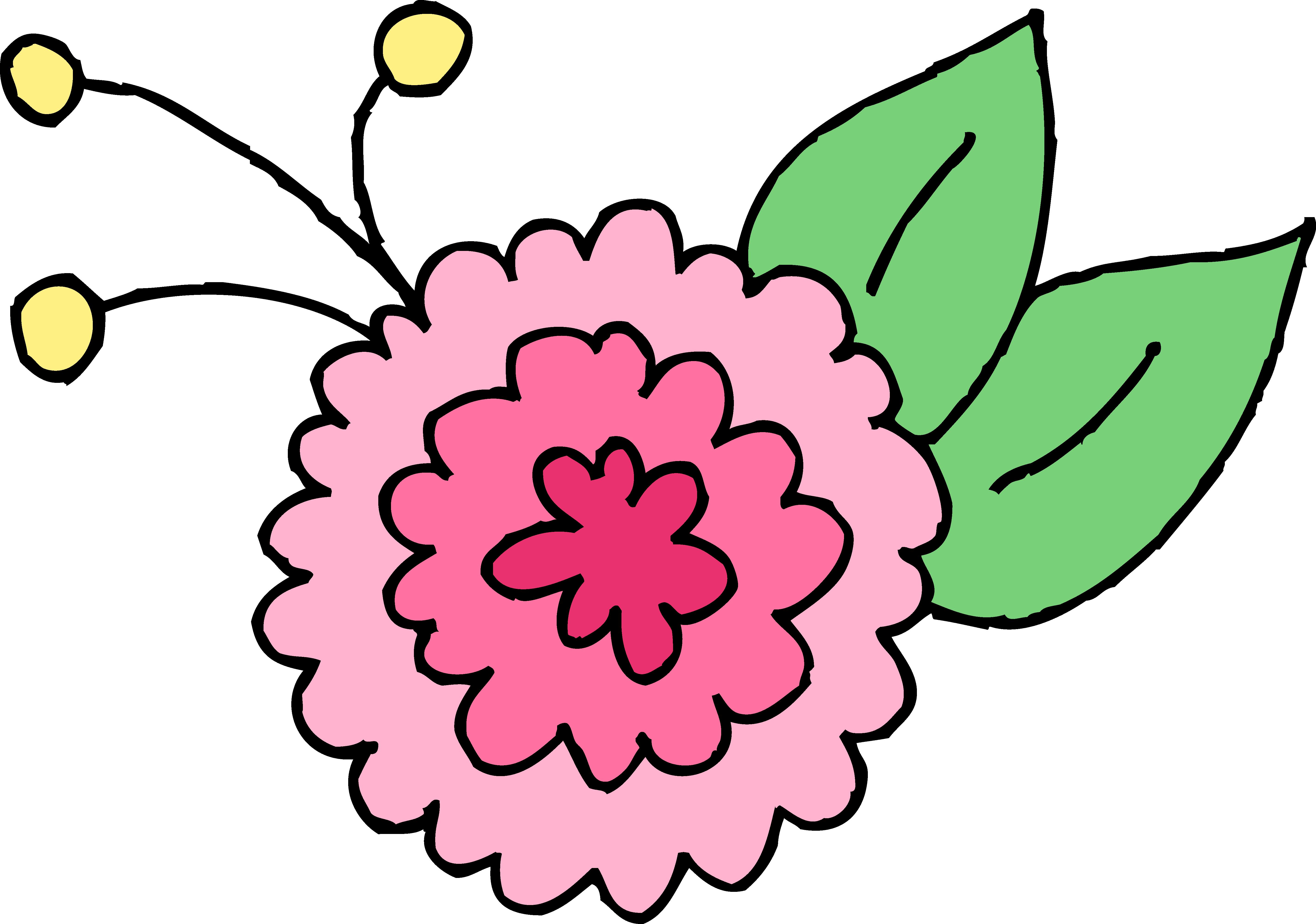 Transparent corner sun clipart - Cute Pink Chrysanthemum Flower - Clip Art Cute Flowers