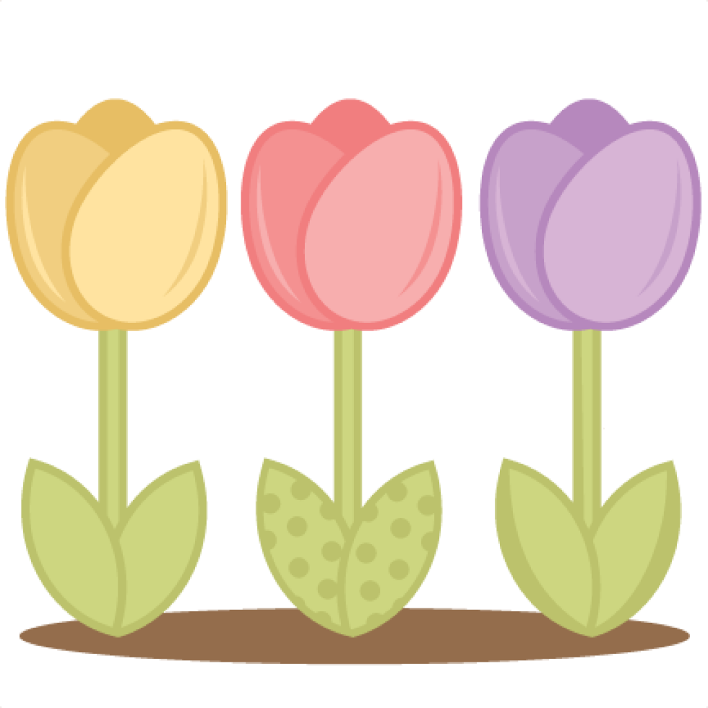 Transparent tulips clipart - Frog Hatenylo Com Tulips - Flower Tulip Spring Clip Art
