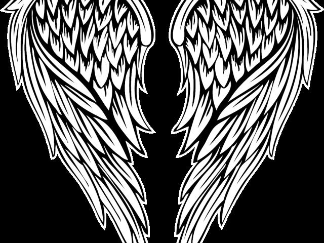 Fallen Angel Clipart Colored Angel Wing Fallen Angel Wings Drawing Transparent Cartoon Jing Fm
