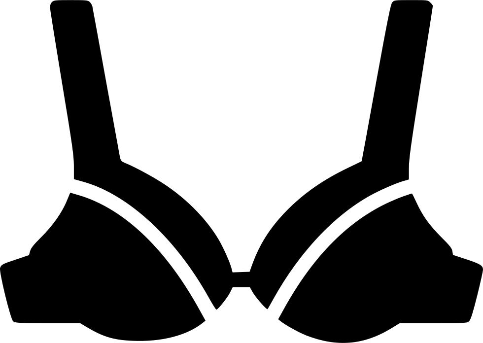 Bra Clipart Svg Women Bra Vector Png Transparent Cartoon Jing Fm