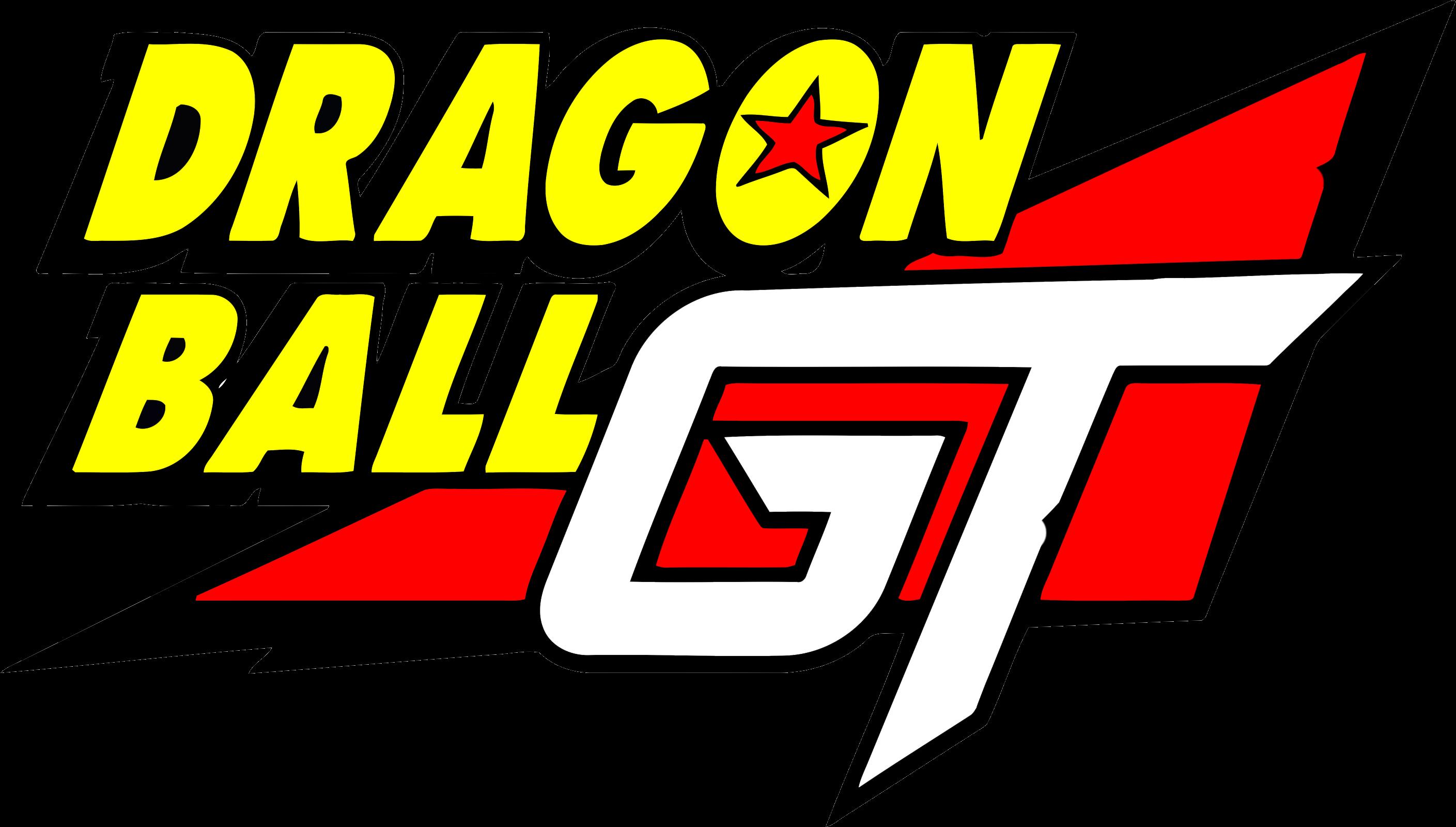100kib 800x470 Dbgt Dragon Ball Gt Logo Transparent Cartoon