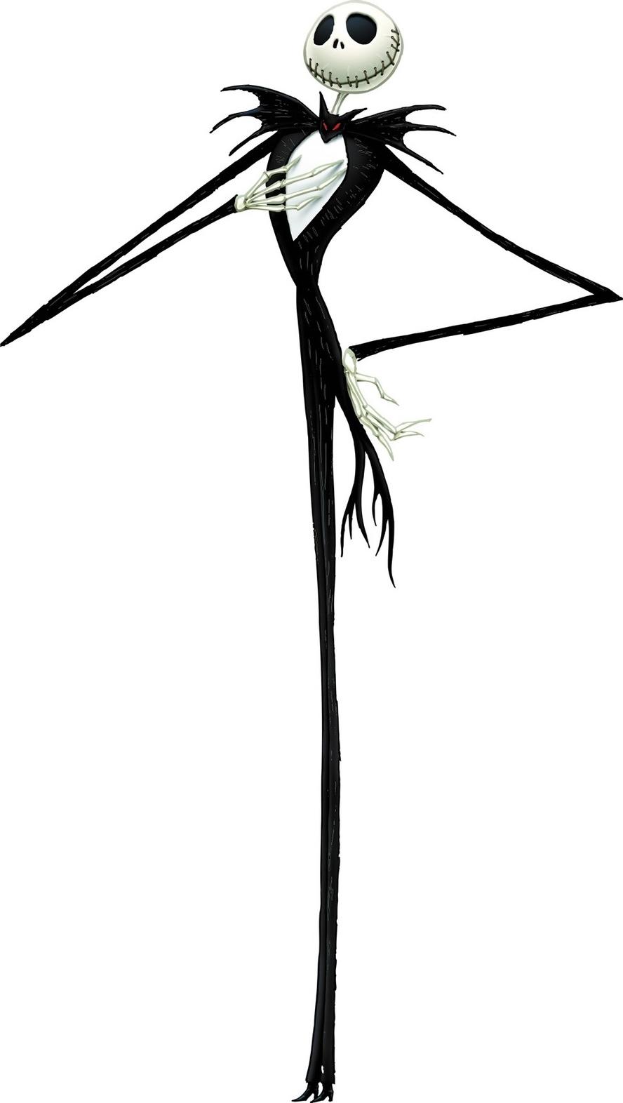 Transparent jack and sally clipart - Jack Skellington Art Poses Clipart , Png Download - Jack Skellington And Slenderman