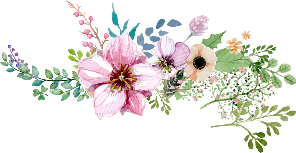 Watercolor Flowers Png Vector Psd And Clipart With: Flower Border Png Images Vector, Clipart, Psd Peoplepng