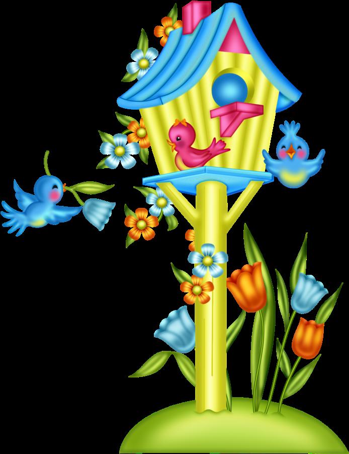 Almost Summer Yandex Desenhos Coloridos Passaros Com Flores