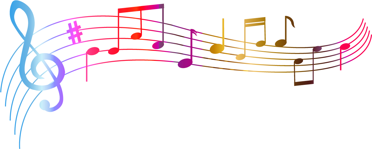 Colorful Music Note Clip Art 4cbg6gkcg E1419952116346 - Music Notes No  Background PNG Image | Transparent PNG Free Download on SeekPNG