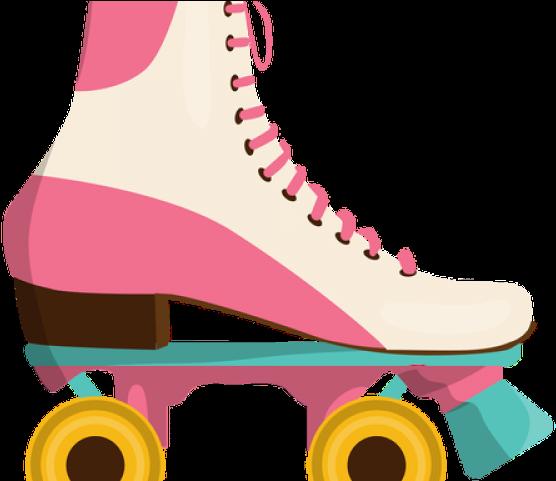 Transparent roller skating clipart - Neon Clipart Roller Skate - Quad Skates