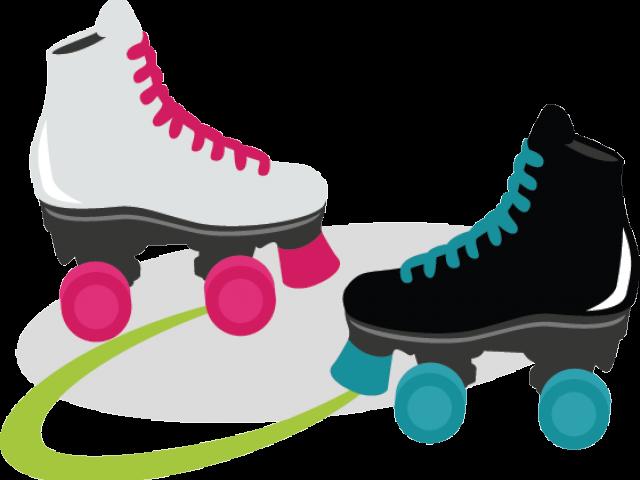Transparent roller skating clipart - Roller Skating