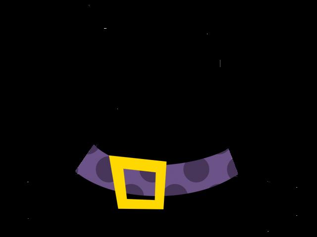 Cap Clipart Halloween Png Witch Hat Transparent Cartoon Jing Fm