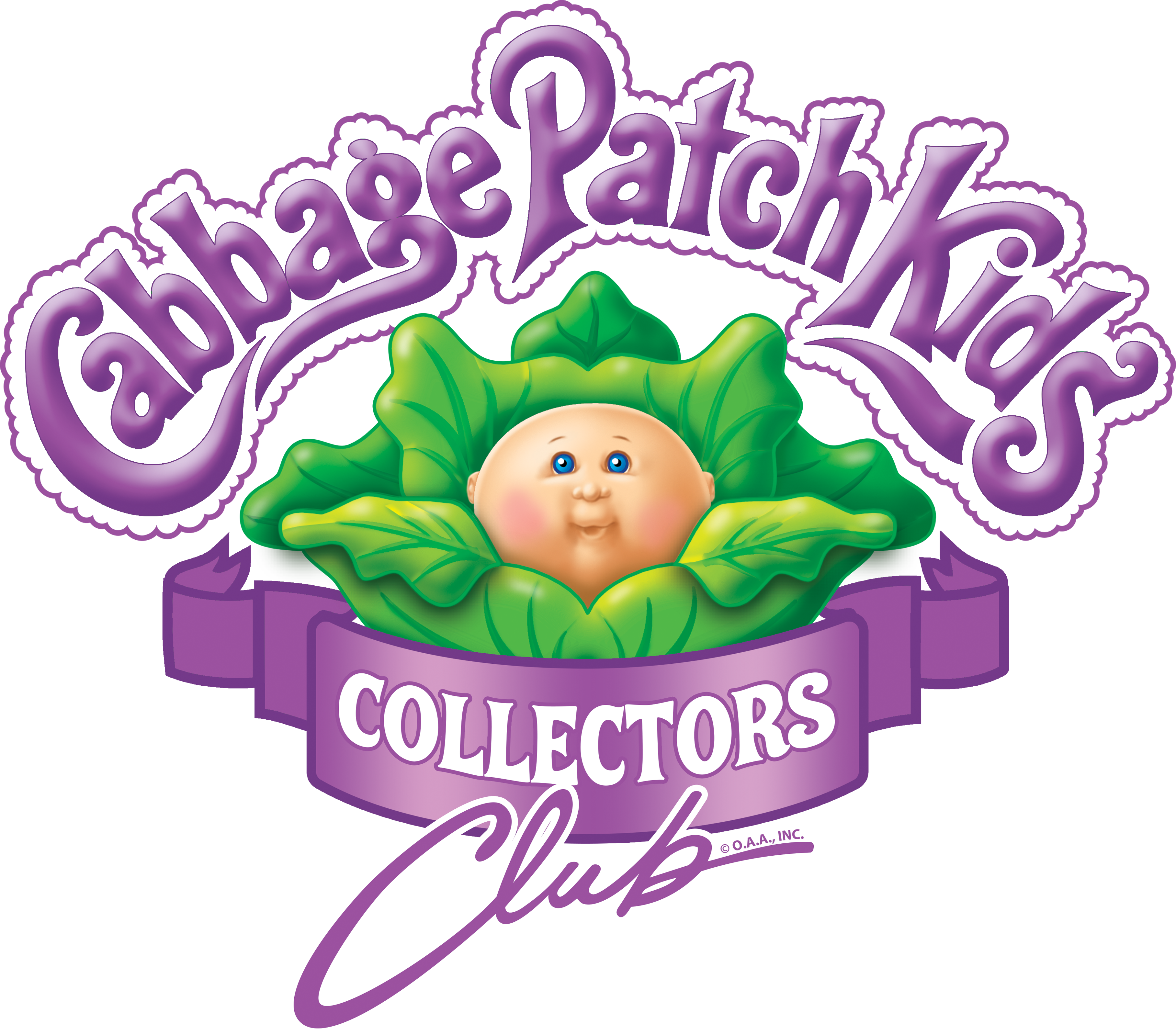 Join The Club - Cabbage Patch Kids Logo , Transparent Cartoon - Jing.fm