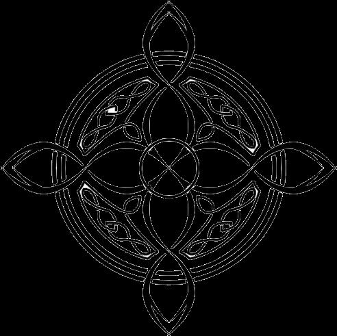 Transparent celtic crosses clipart - Celtic Cross Tattoo - Compass Rose Celtic Tattoos