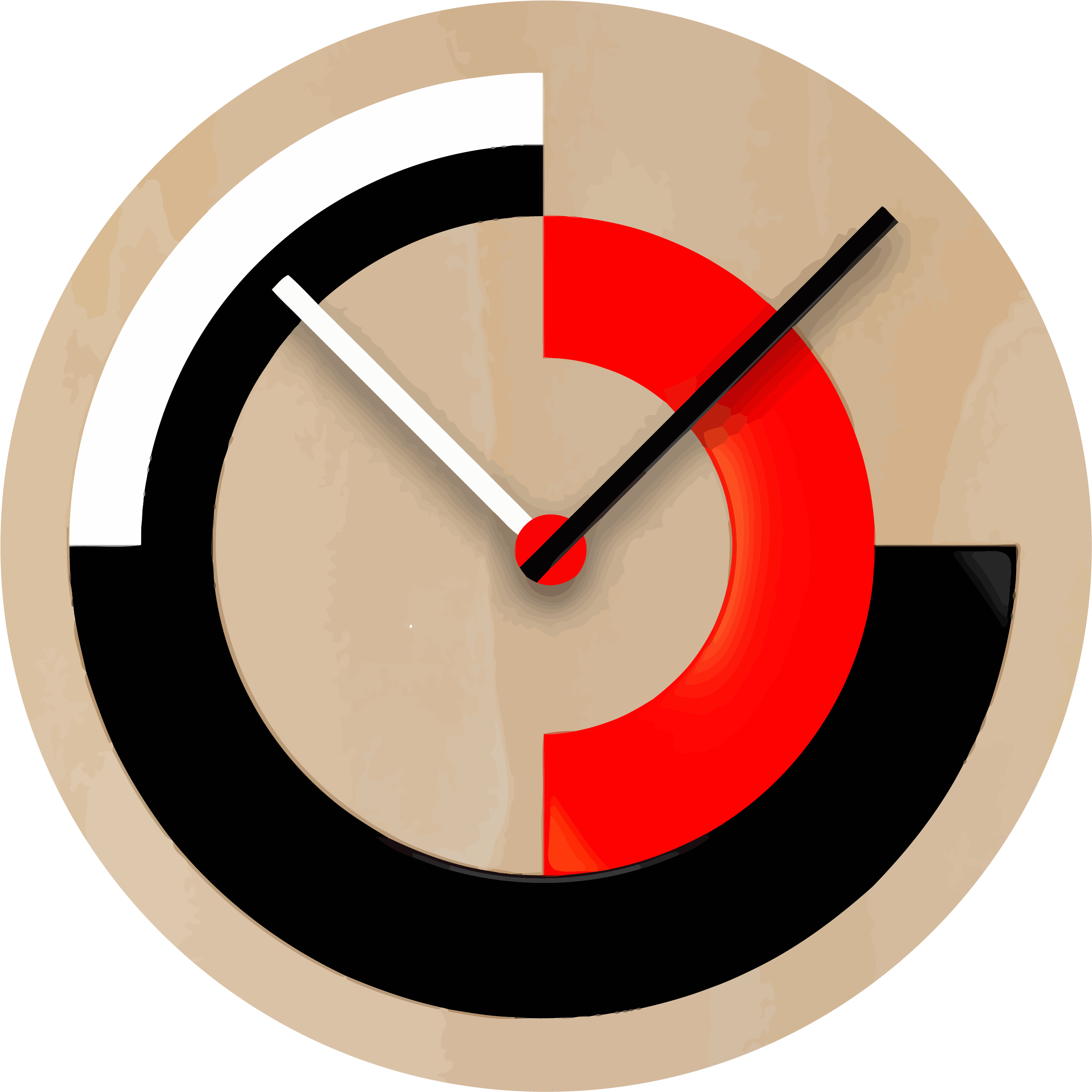 Transparent clock clipart png - Bbq Clock Clipart Png - Wall Clock