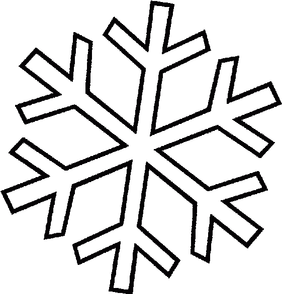 Christmas Snowflake Coloring Pages Page For Kids - Hópehely ...