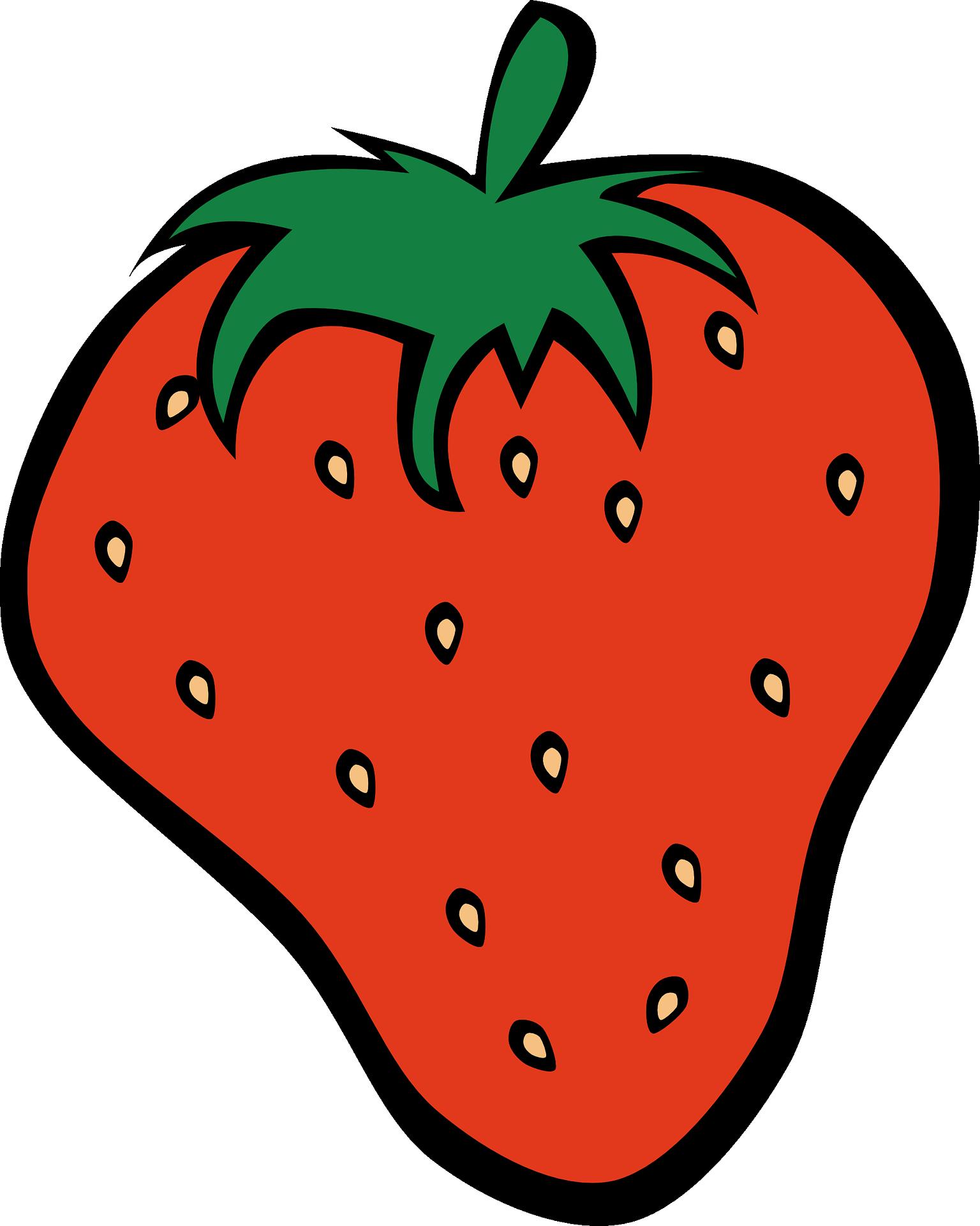 Transparent strawberry clip art - Clip Art Details - Fruit Clipart