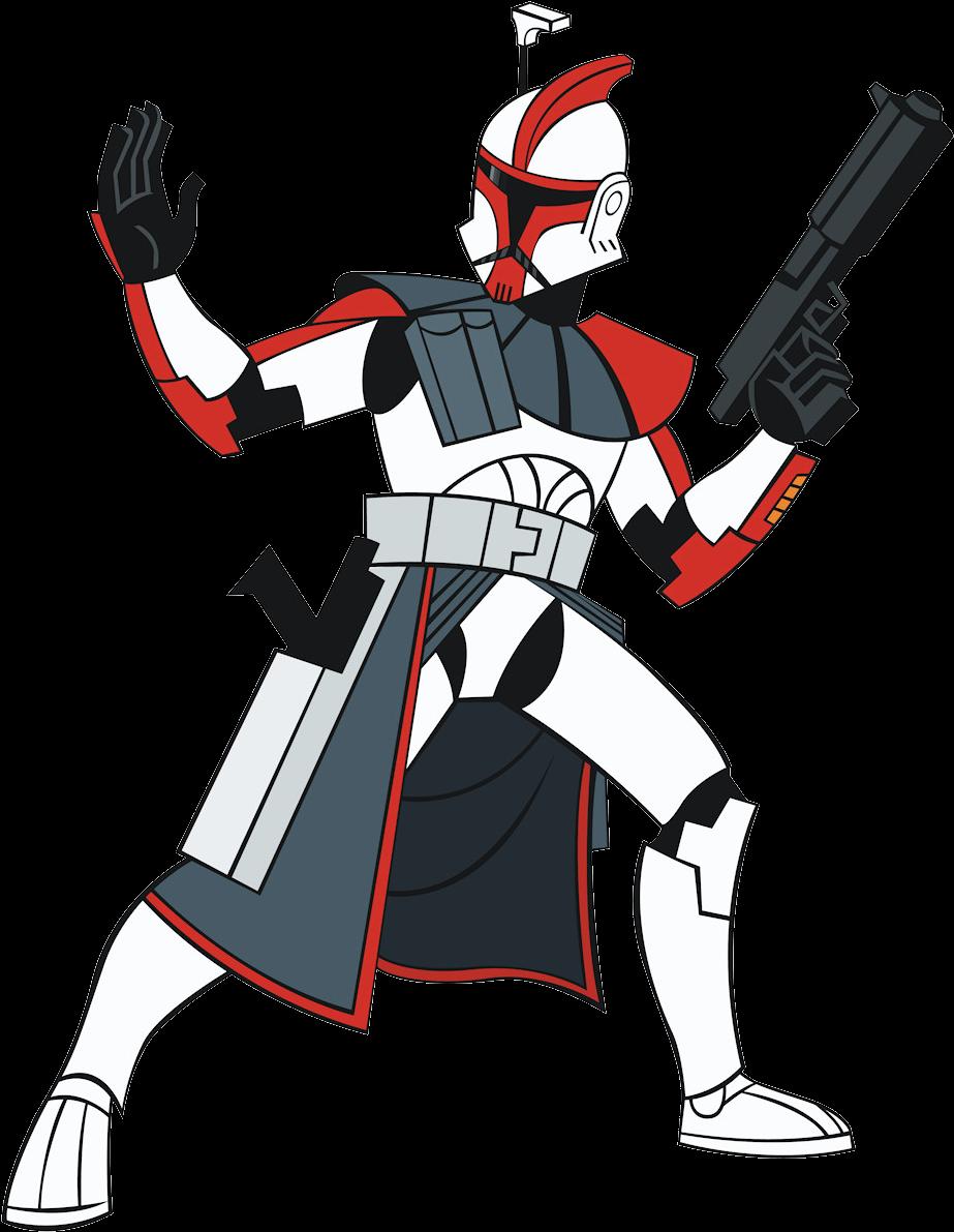 Transparent war clipart - Darth Vader Clipart Clone War - Star Wars Clone Trooper Drawing