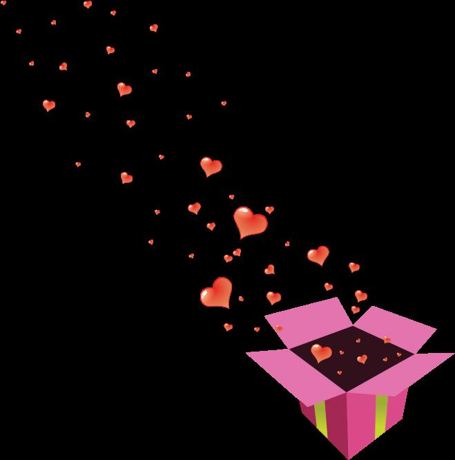 Transparent valentine's day clip art - Illustration