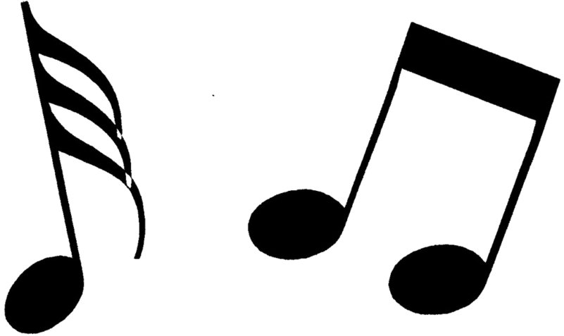 Transparent music note clipart - Music Notes Png Clipart - Music Note Clipart Png