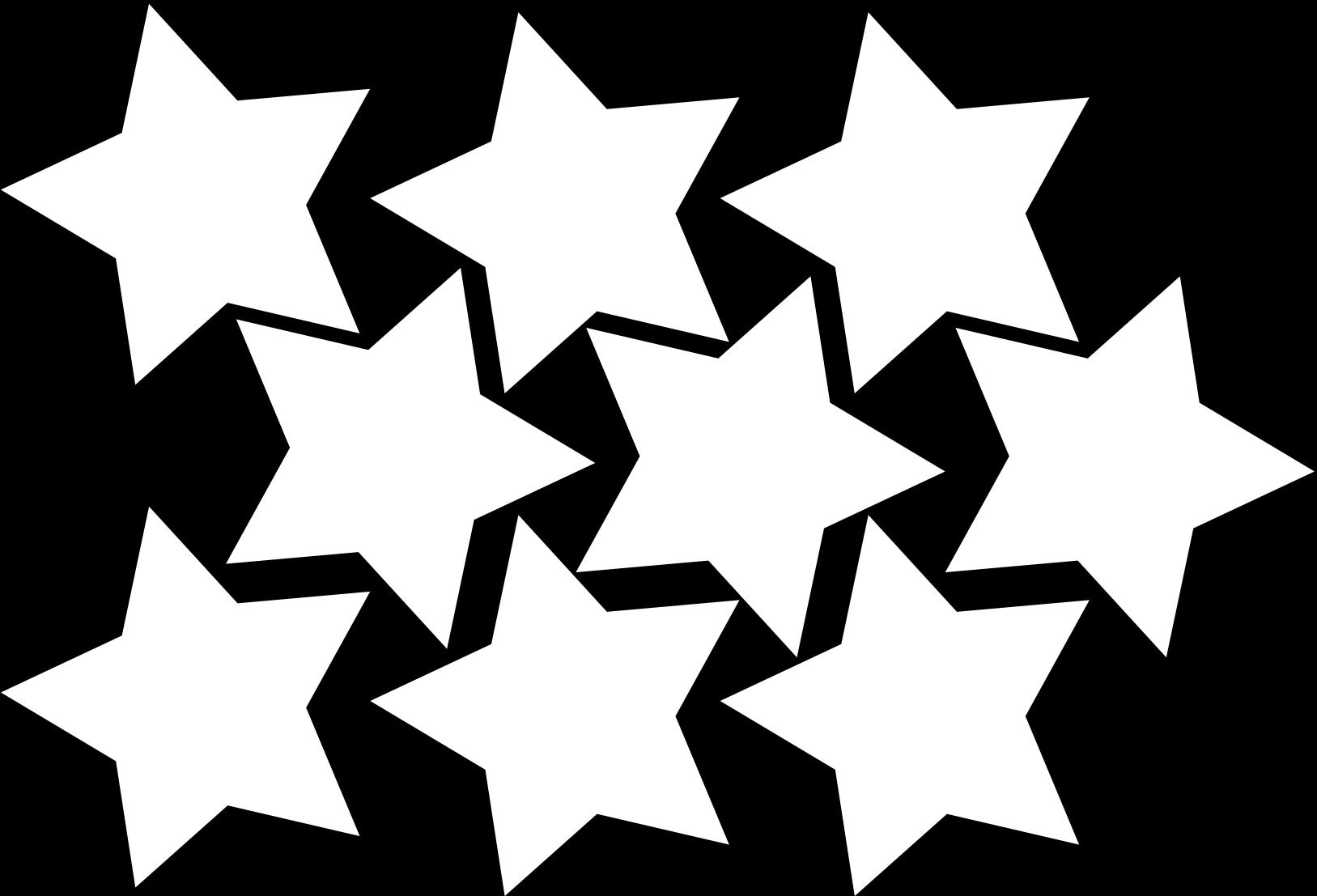 Transparent black stars clipart - Magical Clipart Hollywood Star - Star Garland Printable