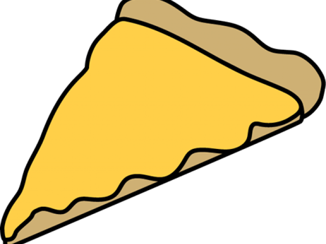 Transparent clipart of pizza - Cartoon Cheese Pizza Slice
