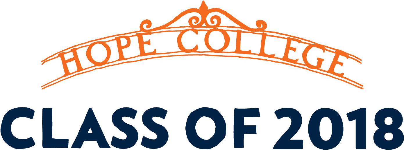 Transparent class of 2016 graduation clipart - Image Of The Hope College Arch, With Type-graphic That