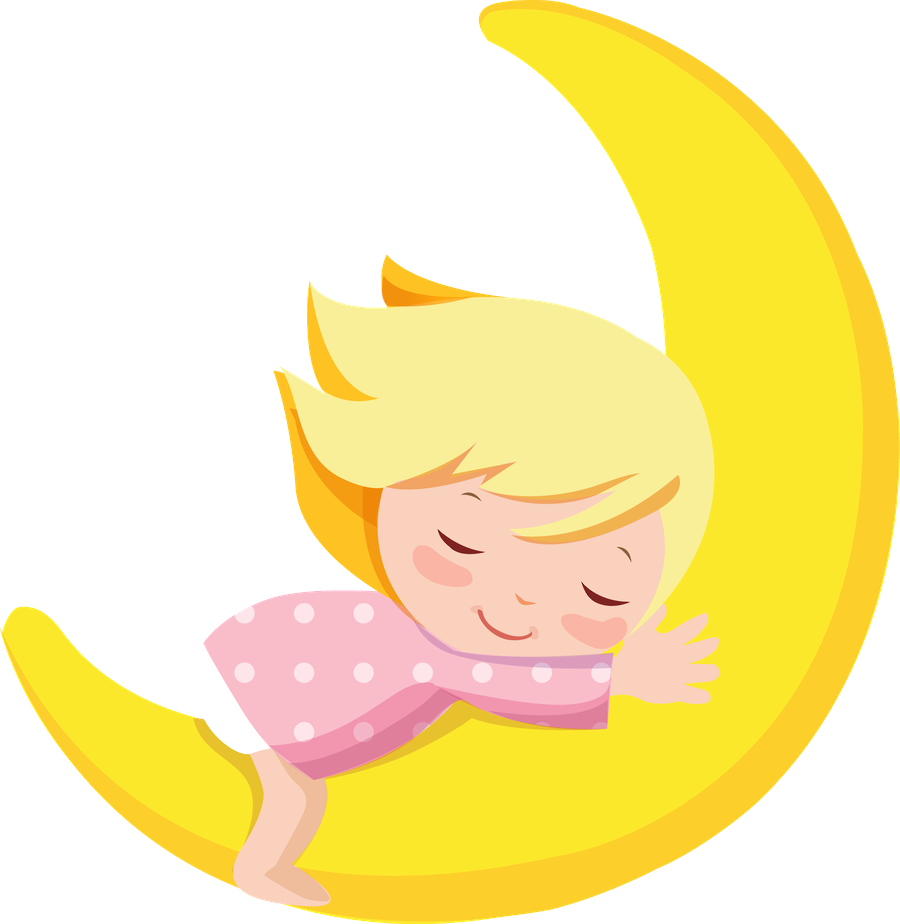 Moon Cartoon Images Boy Images Clipart Noite Do Pijama