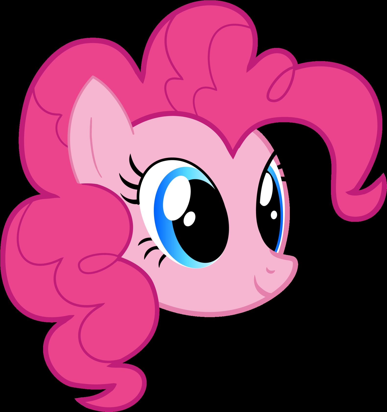 My Little Pony Clipart Head Pinkie Pie Head Transparent Cartoon Jing Fm