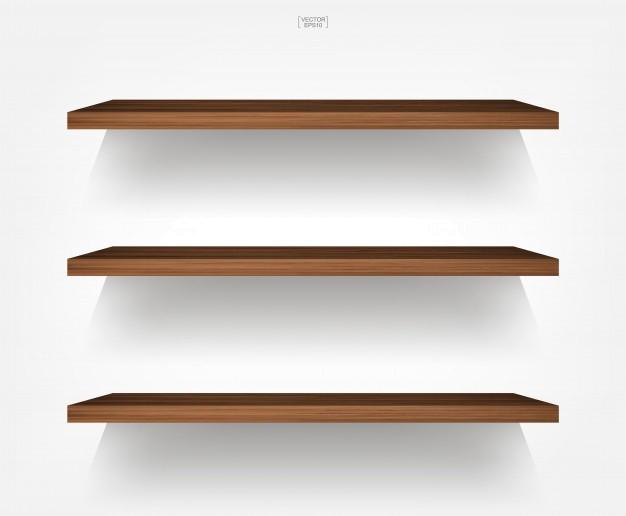 Transparent book shelf clipart - Shelf