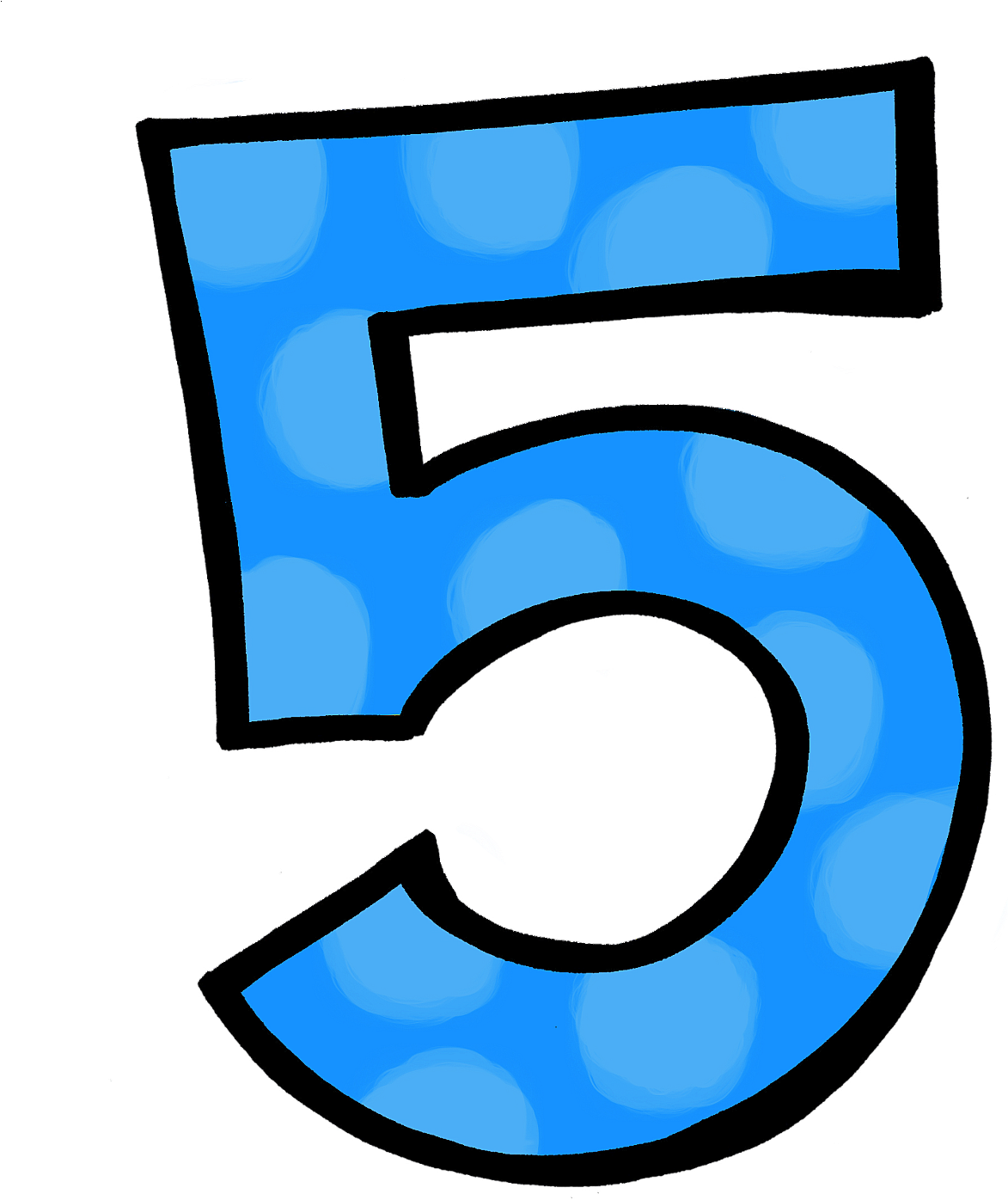 Transparent polka dots clipart - Polka Dot Number 3 Polka Dot Numbers Polka