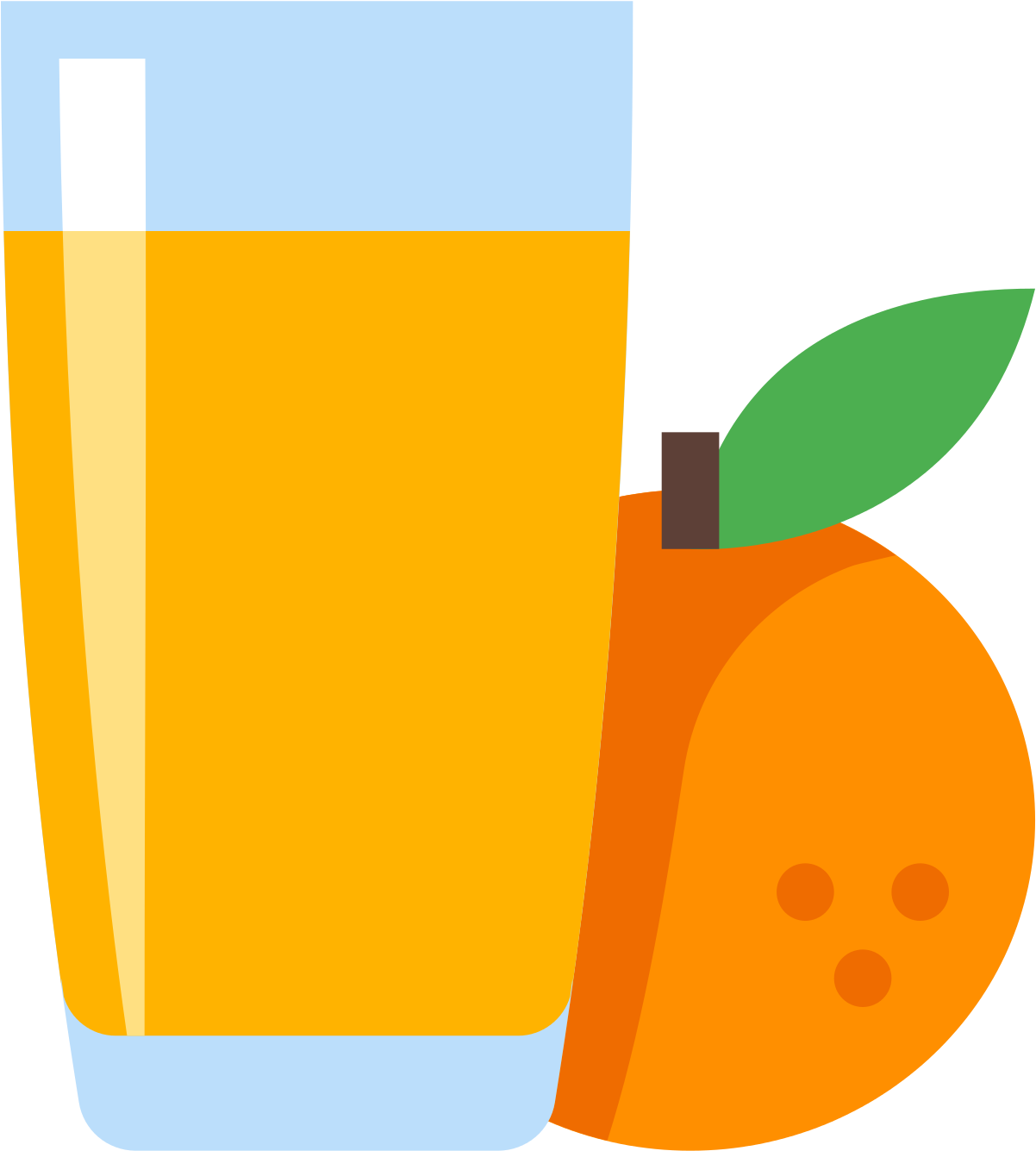 Orange Juice Icon - Juice Icon , Transparent Cartoon - Jing fm