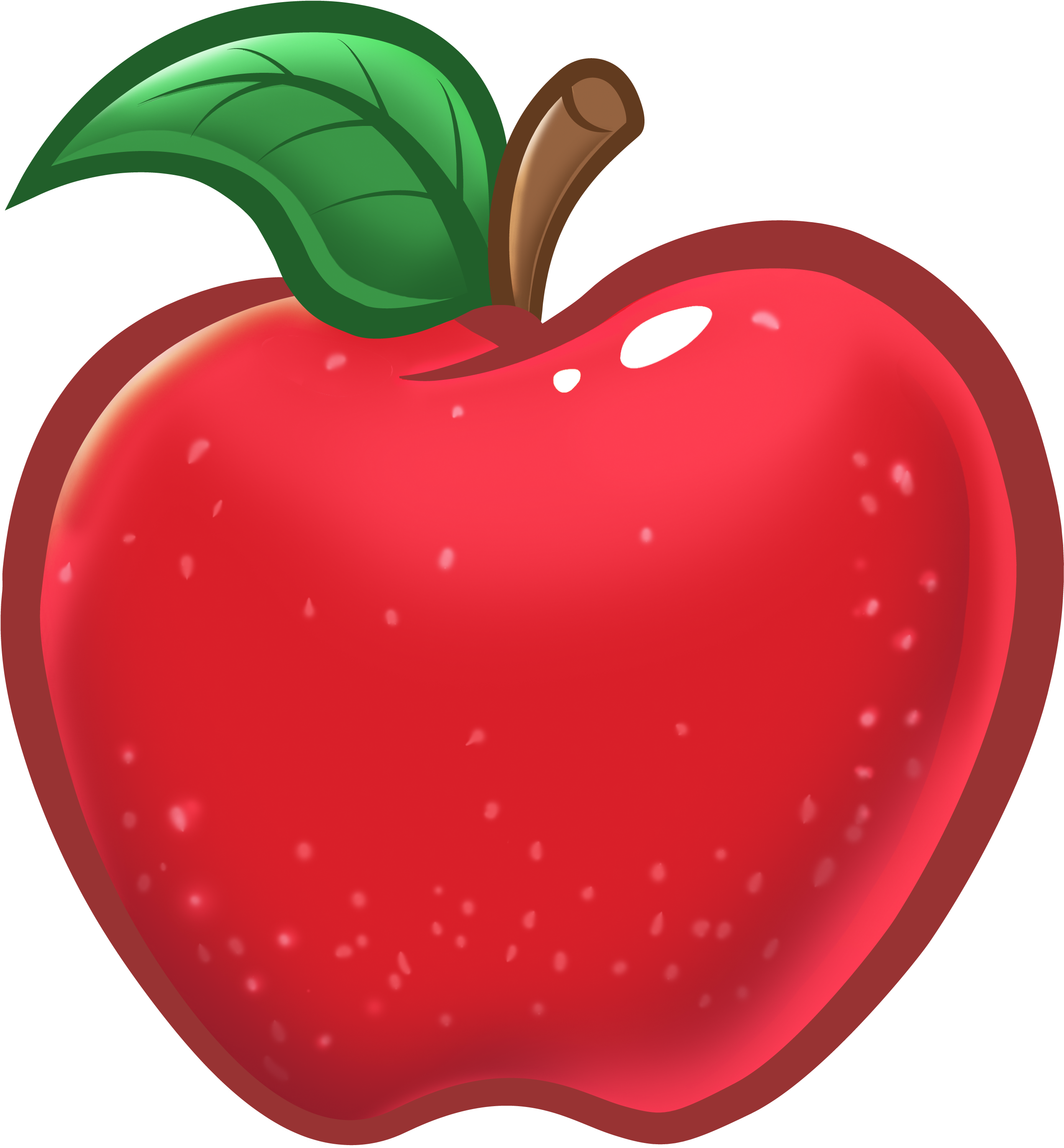 Transparent apples clipart - Teacher Apple Clipart - Teacher Red Apple Clipart