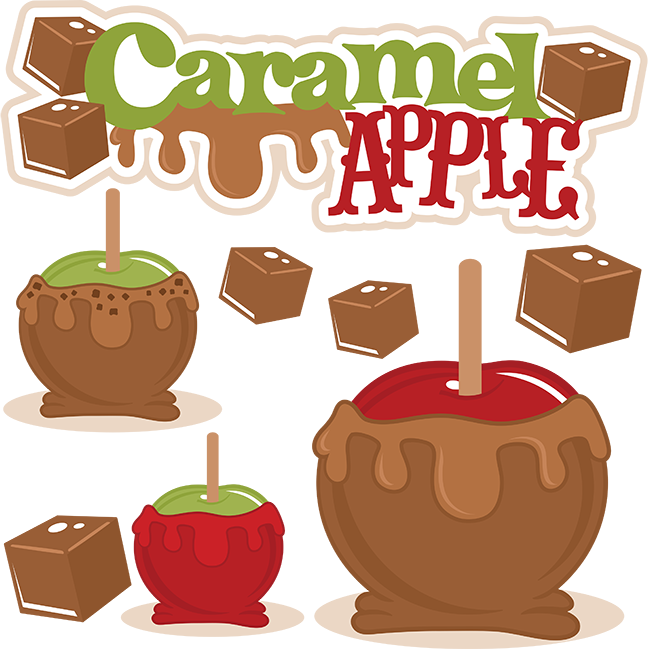 Transparent apples clipart - Caramel Apple Svg Cut File Caramel Apple Cutting File - Free Caramel Apple Clipart