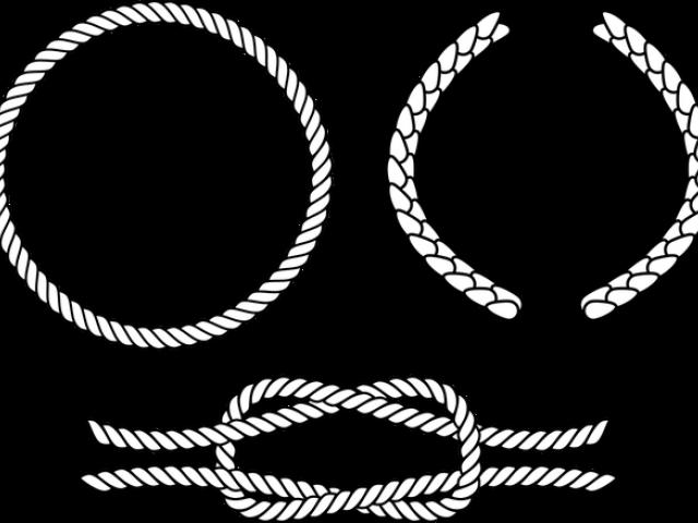 Rope Clipart Outline Vector Graphics Transparent Cartoon Jing Fm