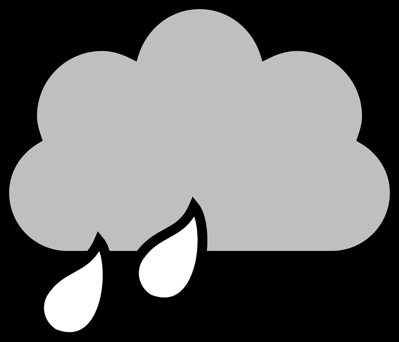 Transparent raining clipart - Cloud Rain Drops Drawing Sky Nature Weather - Raincloud Clipart
