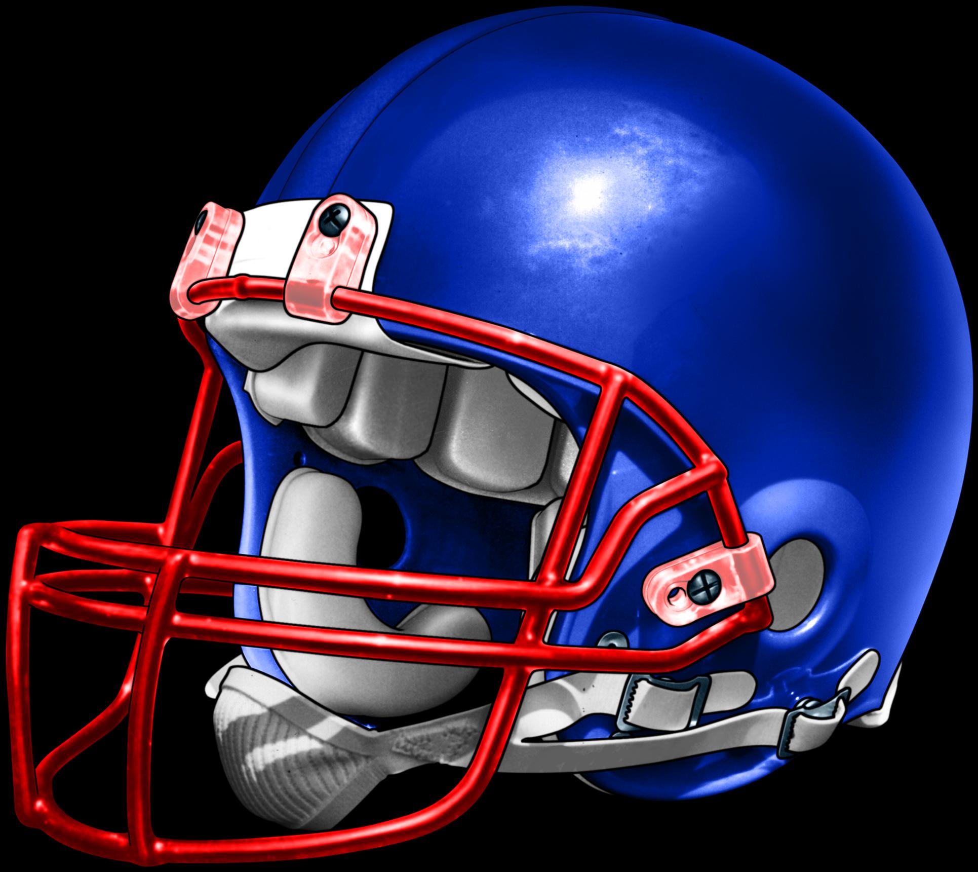 Blue Football Helmets Best On Blue And Red Football Helmet Transparent Cartoon Jing Fm