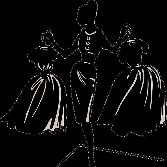 Fashion Designer Clipart Black And White Fashion Clip Art Transparent Cartoon Jing Fm