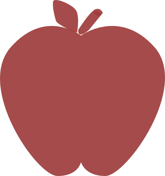 Transparent polka dot apple clipart - Dots Clipart Transparent Apple - Apple