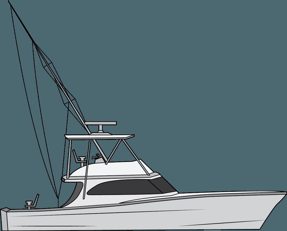 Rod Drawing Fishing Boat Offshore Fishing Boat Drawing Transparent Cartoon Jing Fm