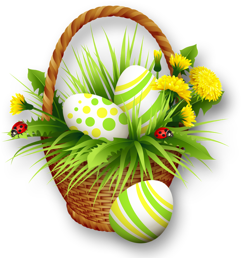 Download Easter Basket Bunny Png Clipart - Origami Owl ...